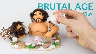 Bathing Scenery (Brutal Age) – Polymer Clay Tutorial