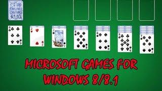 INSTALAR LOS JUEGOS CLASICOS DE WINDOWS 7 (MICROSOFT GAMES) EN WINDOWS 8/8.1/10