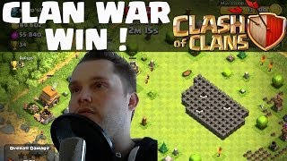 [facecam] Clash of Clans || Clan War Win! 950K! || Let's Play Clash of Clans [Deutsch/German HD]