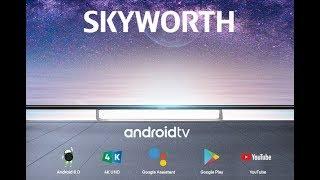 Телевизор SKYWORTH 43Q3 4K на андроиде: обзор основных функций