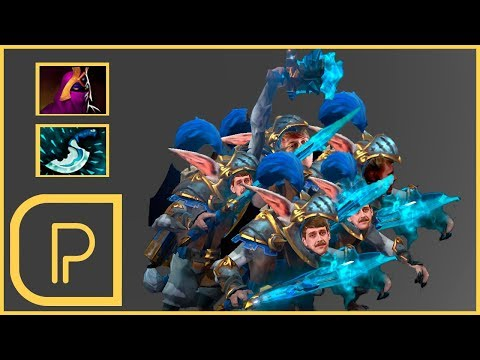 Purge Plays Meepo in 7.07 (Both new heroes in game)