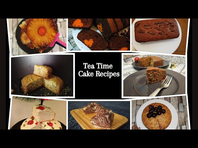 12 Tasty Eggless Cake Recipes   Moist and Delicious Cakes   Desert Food Feed