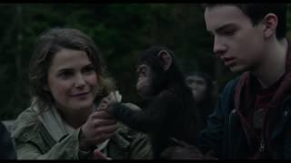التريلر الرسمي لفيلم Dawn of the Planet of the Apes 2017 / القرد سيزر