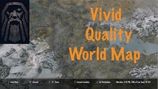 Skyrim SE Mod: A Quality World Map