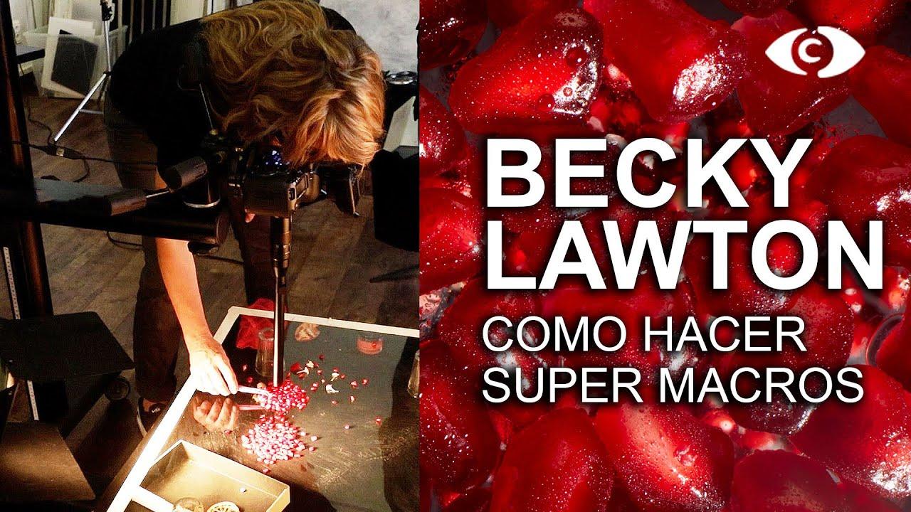 BECKY LAWTON usando el Super Macro Laowa 24 F14