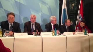 Das bayerische Kabinett tagt in Passau