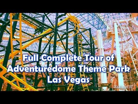 [HD] COMPLETE Full Tour of AdventureDome Theme Park 2014 - El Loco - Circus Circus Las Vegas