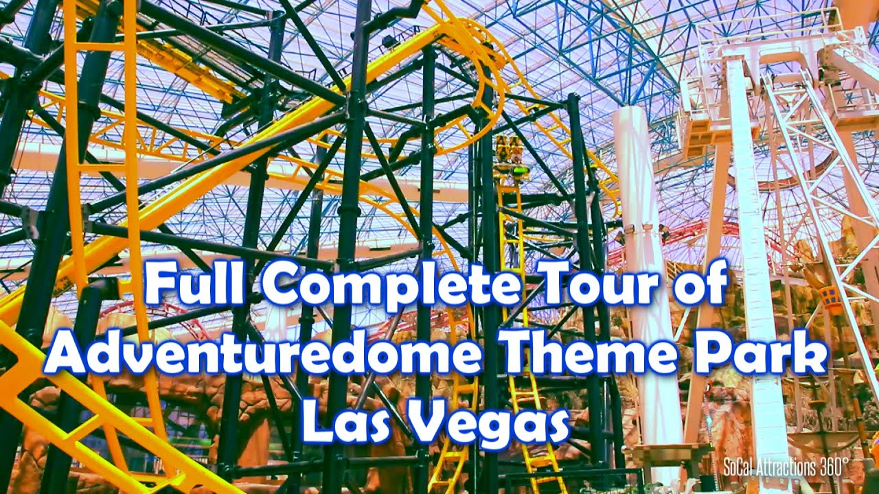 hd complete full tour of adventuredome theme park 2014 el loco circus circus las vegas youtube - Adventuredome Halloween
