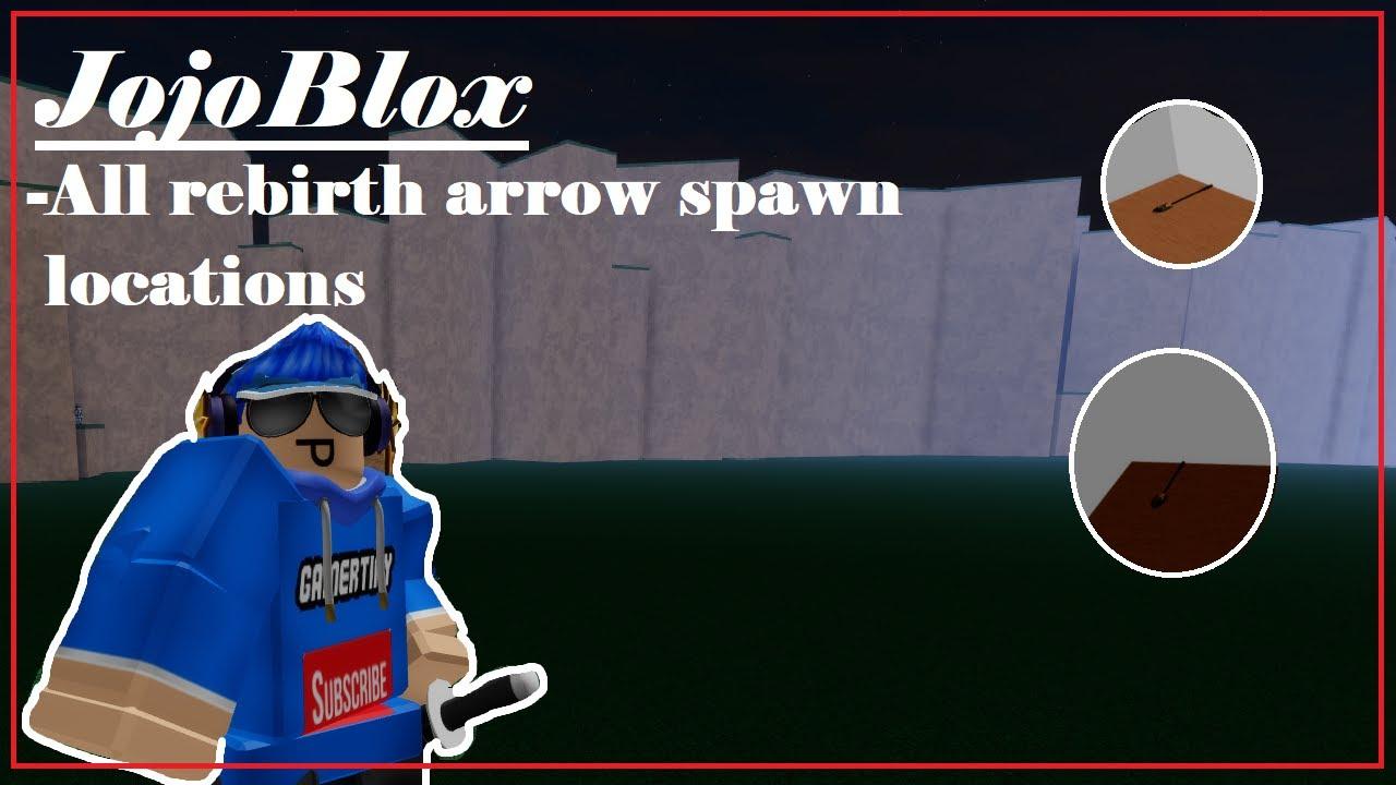 Jojoblox Rebirth Guide Jojo Blox Rebirth Arrow Location Roblox Youtube Jojo blox all new rebirth arrow locations. jojoblox rebirth guide jojo blox rebirth arrow location roblox