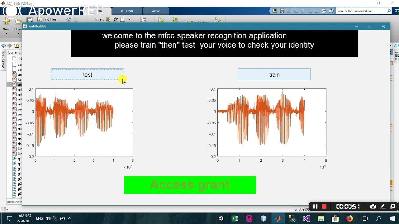 Speaker Recognition using mfcc algorithm