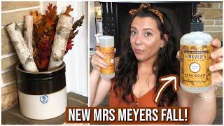 FALL Home Decor & New Mrs Meyers 'Acorn Spice' Haul! | Joanns | Bath & Body Works | Thrifted