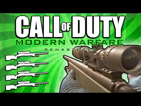 Quad Feed with Every Gun! (Call of Duty: Modern Warfare Remastered)