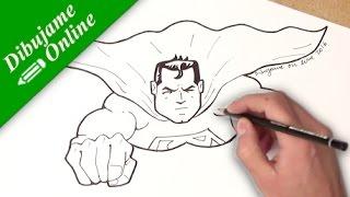 como desenhar o superman | como desenhar o superman passo a passo | superman