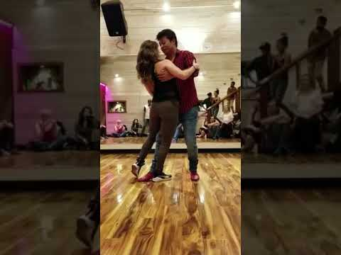 Rasil Tuladhar and Kelsey Rote Zouk Improv Demo