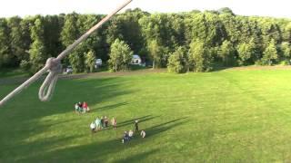 Ballonvaart - Bouke & Ineke 25j trouwen - Vertrek