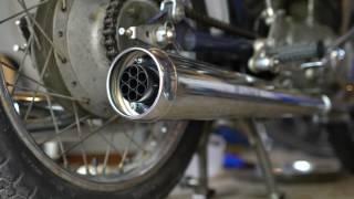 1964 Honda CYB77 Superhawk CB77 gets some loud pipes!