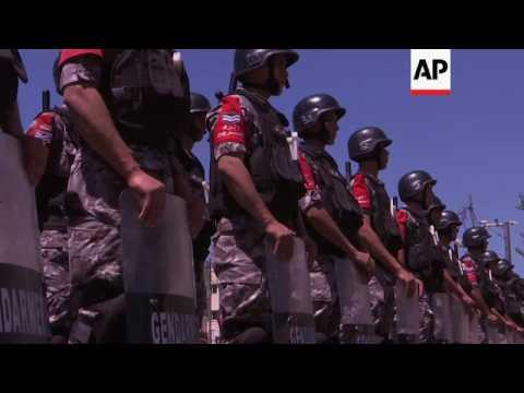 Jordanians Protest Outside Israel Embassy