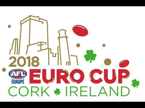 AFL Europe's 2018 Euro Cup @ Cork Ireland - Morning Session