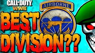 BEST DIVISIONS in COD WW2 MULTIPLAYER? COD WWII AIRBORNE DIVISION PPSH GAMEPLAY! WW2 TIPS & TRICKS!