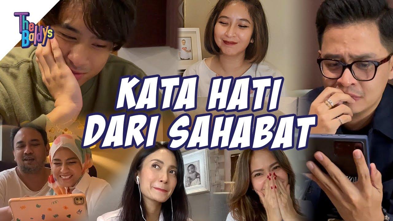 Reaction Sahabat Untuk Single Pertama Mama Nola #Hati | The Baldy