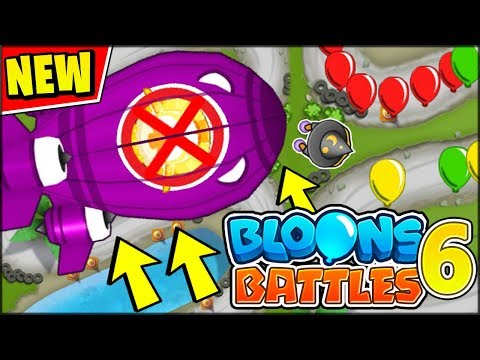 WE HACKED THE MOST POWERFUL B.A.D in BTD Battles (From Bloons TD 6)