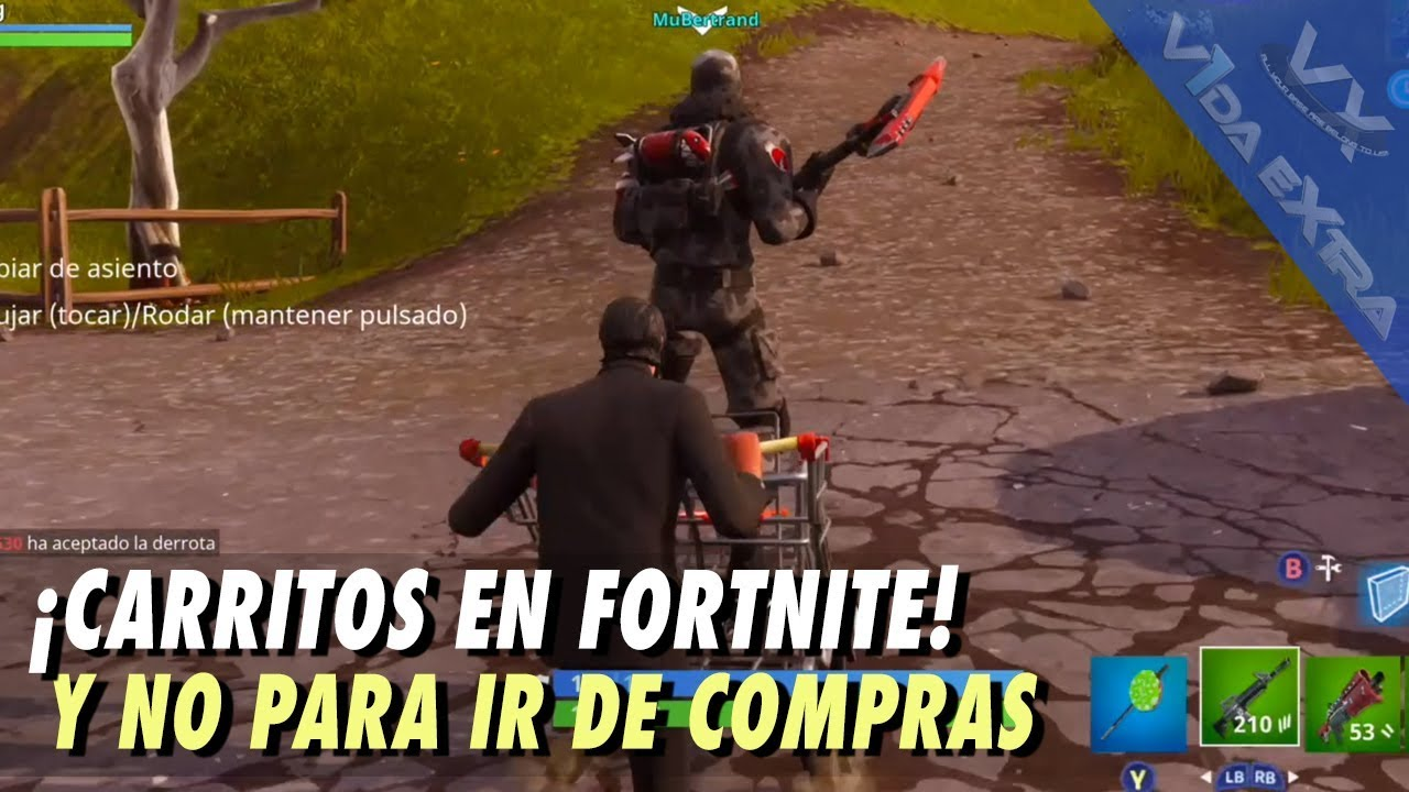 ¡CARRITOS EN FORTNITE!