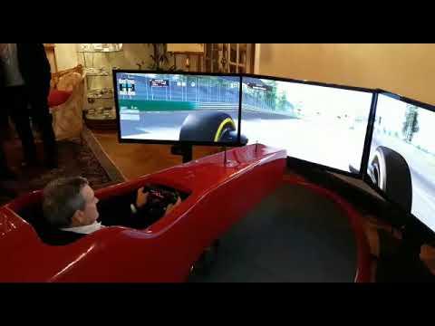 Simulatore di Formula 1 per KPMG al Regina Palace Hotel di Stresa
