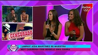 AMOR AMOR AMOR 22/03/16 AIDA MARTINEZ Y ANIA GADEA HABLAN TRAS AMPAY Y CUENTAN QUE  RELACIÓN TIENEN thumbnail