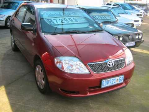 2004 toyota corolla 1 8 gls auto for sale on auto trader south africa youtube. Black Bedroom Furniture Sets. Home Design Ideas