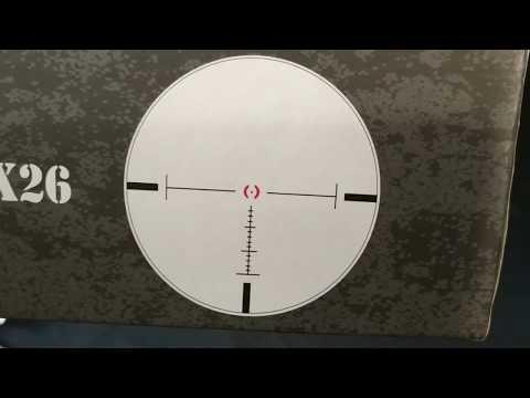 Оптический прицел Vector Optics Artemis 1-8x26 FFP SCFF-12