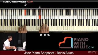Learn Jazz Piano Today : Melody
