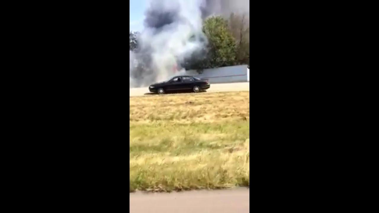 Wreck On I64 Georgetown Ky Scott County Massive Fire
