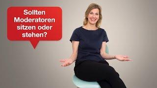 Podiumsdiskussion: Stehen oder Sitzen? I Tipps für Ihren überzeugenden Auftritt | #39