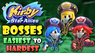 All Kirby Star Allies Bosses Ranked from Easiest to Hardest