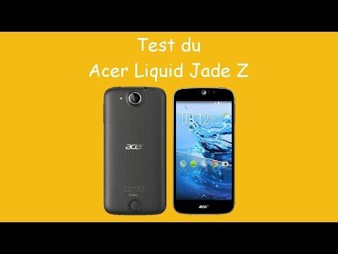 Test du Acer Liquid Jade Z, Par Acer Actu