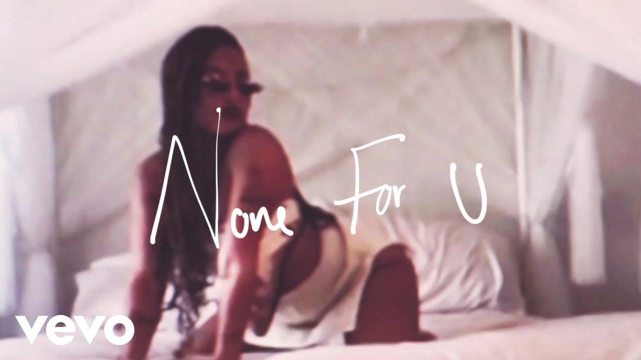 Kiana Ledé - None For You. (Official Visualizer)