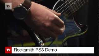 Rocksmith PS3  Guitar Game Demo & Review