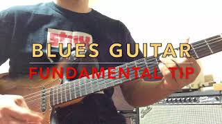 주승훈 - Low Down Dirty Blues Lick #6 - Blues Guitar Fundamental Tip : Finger Pickin' for Blues Guitar