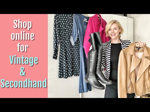 Second hand & Vintage Haul | Sustainable fashion | Vestiaire Collective, Oxfam, Ebay
