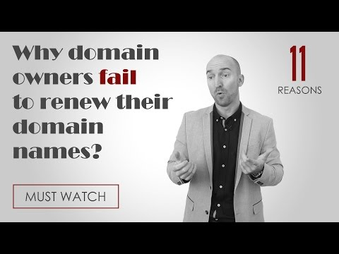 11 common reasons why domain owners fail to renew their domain name