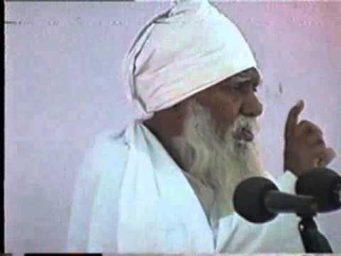 "Huzur Param Sant Tarachand Ji  Maharaj describing about "" Grace of Satguru """