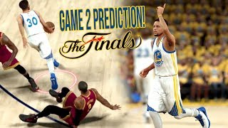 NBA 2K17 Predicts Warriors VS Cavs Game 2 Almost PERFECTLY! 2K DON'T LIE! NBA Finals 2K SIMULATION