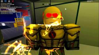 Being Flash (GONE WRONG) | Roblox CW: The Flash [PRE ALPHA]