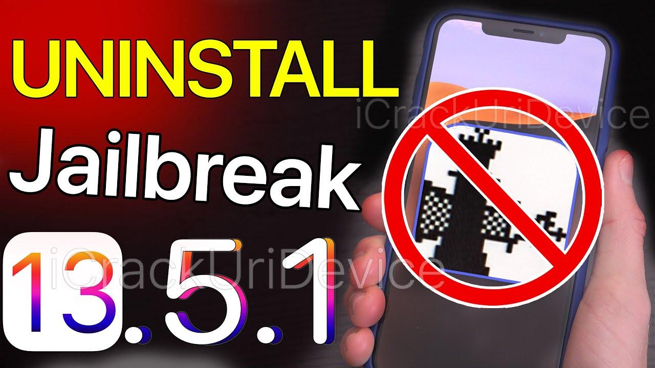 UnJailbreak iOS 13 – iOS 13.5.1 Remove & Uninstall Checkra1n! Delete Cydia (NO COMP / RESTORE)
