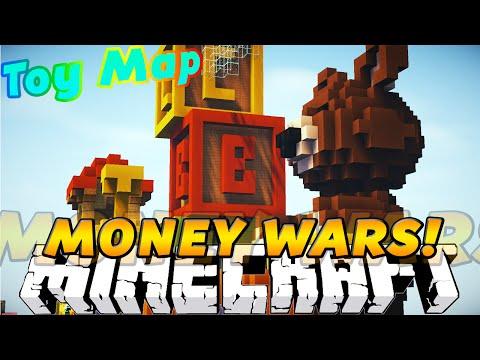 """Minecraft MONEY WARS! """"THE HUNT FOR UNCLE BURGER"""" w/KenWorth & PrestonPlayz"""