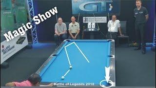 Legend Efren Reyes 2018    Magic Show - Best shots of Legend 2018