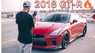 Buying a 2018 GT-R & Modding it the same day! | The nismo gets TE37s & races a 700whp evo 9!