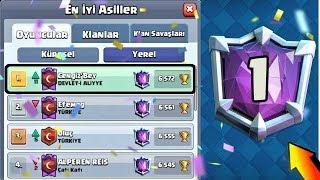 TÜrkİye 1.sİ Olup DÜnya 1.sİ İle MaÇ Yaptim !!! - Clash Royale