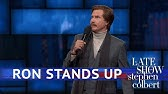 Ron Burgundy&#39s EXCLUSIVE Stand-Up Comedy Debut On The Late Show