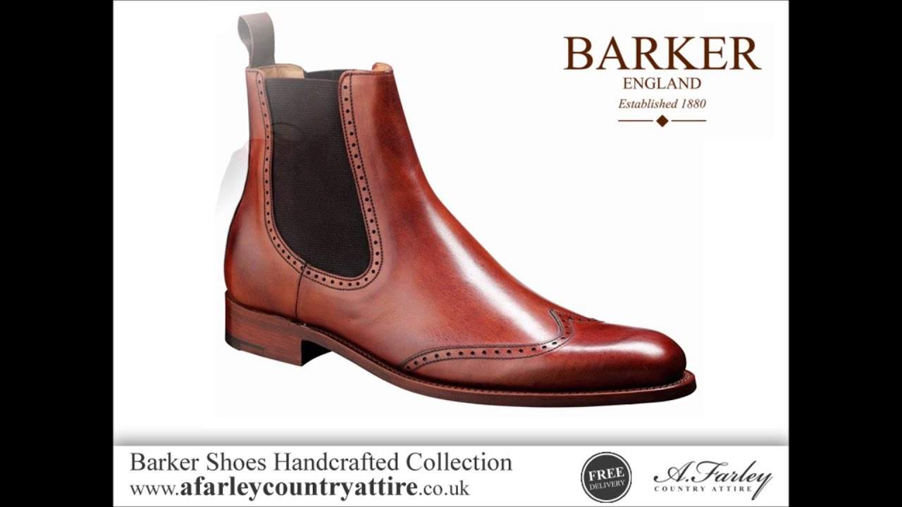 f062bd85 Barker Shoes Handcrafted Collection - English Made Shoes - YouTube